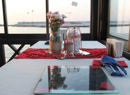 Restoranda Evlilik Teklifi Organizasyonu Masa Süsleme Detayları
