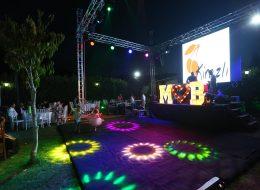 Sahne ve Podyum Kiralama Hizmeti İzmir Organizasyon
