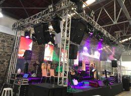 Konser Organizasyonu Sahne Kiralama Hizmeti İzmir Organizasyon
