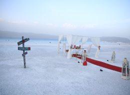 Salda Gölünde Evlenme Teklifi Organizasyonu