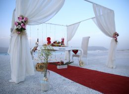 Salda Gölünde Sürpriz Evlenme teklifi organizasyonu