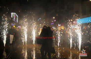 Samsun Havai Fişek Gösterisi Samsun Yer Volkanı Samsun Işıklı Uçan Balon İzmir Organizasyon