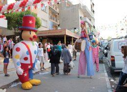 Tahta Bacak Gösterisi ve Şişme Maskotlar Kiralama İzmir