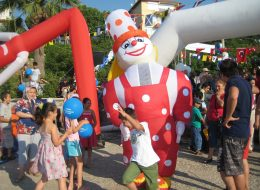 Şenlik Organizasyonu Şişme Maskotlar Kiralama İzmir