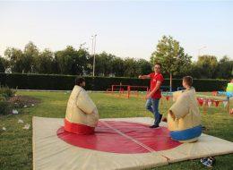 Sumo Güreşi Oyun Parkuru Kiralama