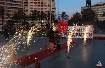 Sivas Havai Fişek Gösterisi Sivas Yer Volkanı Sivas Işıklı Uçan Balon İzmir Organizasyon