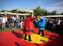 Piknik Organizasyonu Sumo Güreşi Oyunu ve Dans Anı