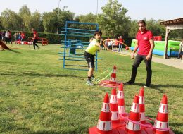 Survivor Temalı Doğum Günü Organizasyonu Oyun Parkuru Kiralama İzmir