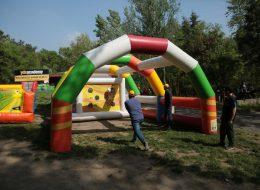Şenlik Organizasyonu Şut Becerisi Oyun Parkurunda Eğlenceli Anlar