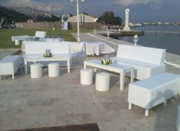 Puf Oturma Grubu Kiralama İzmir