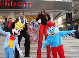 İzmir Tahta Bacak Gösterisi Animasyon Ekibi Hizmeti