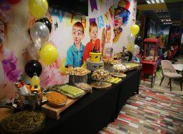 Temalı Doğum Günü Partisi Organizasyon