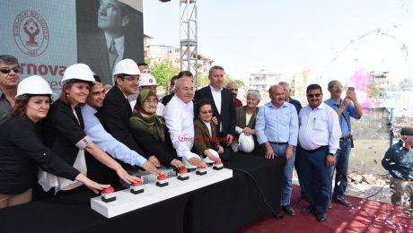Temel Atma Töreni Organizasyonu Temel Atma Butonu Kiralama İzmir