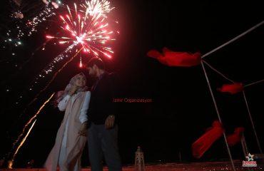 Tokat Havai Fişek Gösterisi Tokat Yer Volkanı Tokat Işıklı Uçan Balon İzmir Organizasyon