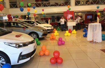 Toyota Borovalı 23 Nisan Şenlik Organizasyonu Balon Süsleme