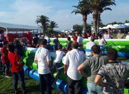 Şenlik Organizasyonu Canlı Langırt Oyun Parkurunda Eğlenceli Anlar