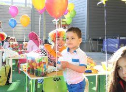 Renkli Uçan Balon Süsleme İzmir