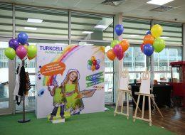 Renkli Uçan Balon Süslemeleri İzmir