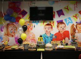 Temalı Doğum Günü Organizasyonu Helyumlu Balon Süsleme İzmir
