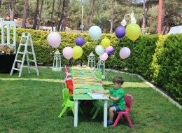 Çocuk Oturma Grubu Kiralama ve Balon Süsleme İzmir