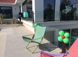 Papatya Balon Süsleme İzmir Doğum Günü Organizasyonu