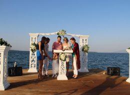 İzmir Kumsalda Düğün Organizasyonu