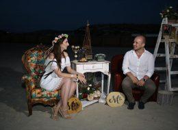 Plajda Evlenme Teklifi Organizasyonu Çeşme