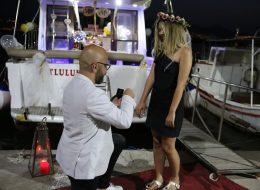 Evlenme Teklifi Anı ve Sürpriz Evlilik Teklifi Organizasyonu İzmir