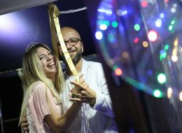 Ledli Uçan Balon Süsleme İzmir Teknede Evlilik Teklifi Organizasyonu