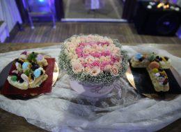 Masa Süsleme Detayları ve Teknede Romantik Evlenme Teklifi Organizasyonu İzmir