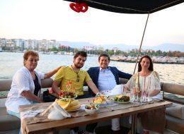 İzmir Teknede Doğum Günü Organizasyonu