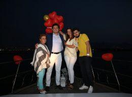 Uçan Balonlar ve Yatta Sürpriz Doğum Günü Organizasyonu