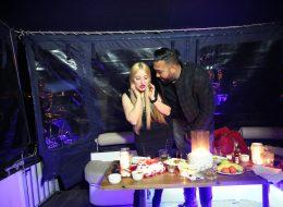 Teknede Romantik Doğum Günü Organizasyonu Fotoğraf Çekimi İzmir