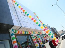 Açılış Organizasyonu Zincir Balon Süsleme Hİzmeti İzmir